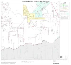 Primary view of object titled '1990 Census County Block Map (Recreated): Montgomery County, Block 40'.