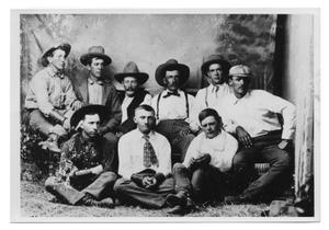 Primary view of object titled 'Lipscomb County Cowboys'.