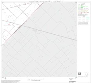 Primary view of object titled '1990 Census County Block Map (Recreated): Colorado County, Block 16'.