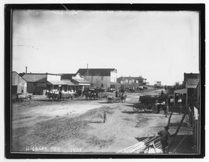 View of Higgins, Texas in 1905