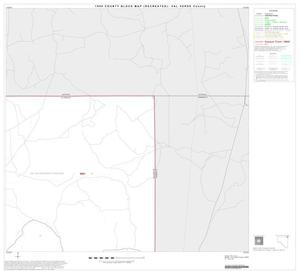 Primary view of object titled '1990 Census County Block Map (Recreated): Val Verde County, Block 8'.