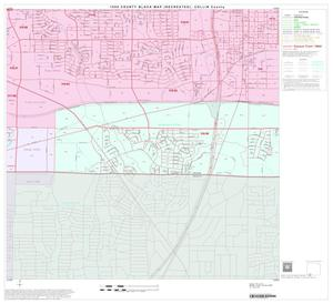 1990 Census County Block Map (Recreated): Collin County, Block 43