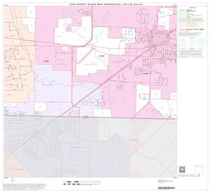 Primary view of object titled '1990 Census County Block Map (Recreated): Collin County, Block 45'.