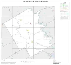 1990 Census County Block Map (Recreated): Bosque County, Index