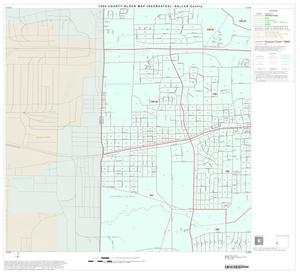 Primary view of object titled '1990 Census County Block Map (Recreated): Dallas County, Block 51'.