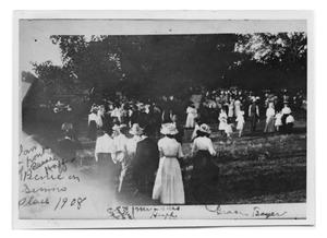 Primary view of object titled 'Picnic on Simms Place'.