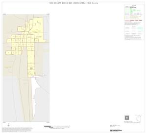 Primary view of 1990 Census County Block Map (Recreated): Polk County, Inset A01