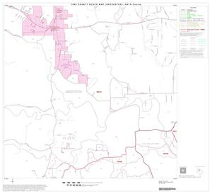 Primary view of object titled '1990 Census County Block Map (Recreated): Hays County, Block 8'.