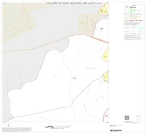 Primary view of object titled '1990 Census County Block Map (Recreated): McCulloch County, Inset B03'.