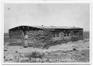 Primary view of object titled 'Sod School House'.