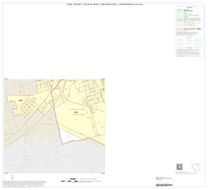 Primary view of object titled '1990 Census County Block Map (Recreated): Anderson County, Inset C03'.
