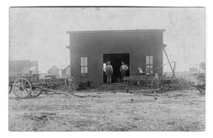 Primary view of object titled 'Blacksmith Shop'.