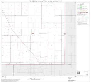 Primary view of object titled '1990 Census County Block Map (Recreated): Terry County, Block 9'.