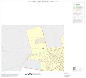 Primary view of object titled '1990 Census County Block Map (Recreated): Howard County, Inset B01'.