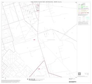 Primary view of object titled '1990 Census County Block Map (Recreated): Ward County, Block 14'.