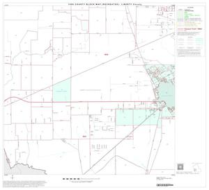 Primary view of object titled '1990 Census County Block Map (Recreated): Liberty County, Block 14'.
