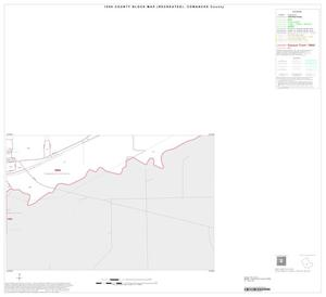 Primary view of object titled '1990 Census County Block Map (Recreated): Comanche County, Inset C04'.