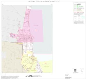 Primary view of object titled '1990 Census County Block Map (Recreated): Aransas County, Inset B02'.