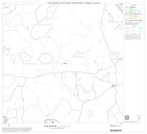 Primary view of object titled '1990 Census County Block Map (Recreated): Kendall County, Block 6'.