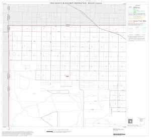Primary view of object titled '1990 Census County Block Map (Recreated): Bailey County, Block 1'.