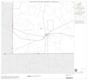 Primary view of object titled '1990 Census County Block Map (Recreated): Irion County, Block 7'.