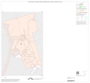 Primary view of object titled '1990 Census County Block Map (Recreated): San Jacinto County, Inset B01'.