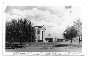 Primary view of object titled 'Lipscomb County Courthouse and Jail'.