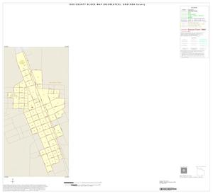 Primary view of object titled '1990 Census County Block Map (Recreated): Grayson County, Inset Q01'.