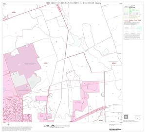 Primary view of object titled '1990 Census County Block Map (Recreated): Williamson County, Block 52'.