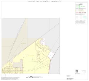 Primary view of object titled '1990 Census County Block Map (Recreated): Tom Green County, Inset C06'.