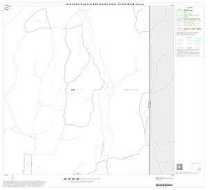 Primary view of object titled '1990 Census County Block Map (Recreated): Hutchinson County, Block 12'.