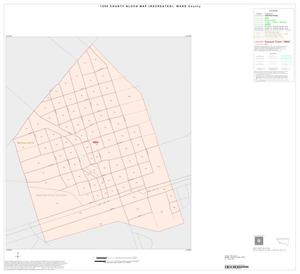 Primary view of object titled '1990 Census County Block Map (Recreated): Ward County, Inset D01'.