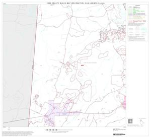 Primary view of object titled '1990 Census County Block Map (Recreated): San Jacinto County, Block 2'.