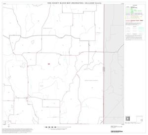 Primary view of object titled '1990 Census County Block Map (Recreated): Callahan County, Block 12'.