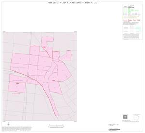 Primary view of object titled '1990 Census County Block Map (Recreated): Bexar County, Inset F01'.