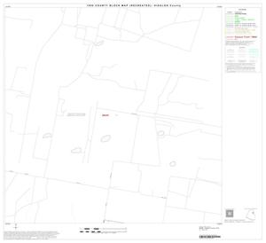Primary view of object titled '1990 Census County Block Map (Recreated): Hidalgo County, Block 25'.