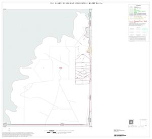 Primary view of object titled '1990 Census County Block Map (Recreated): Moore County, Inset D01'.