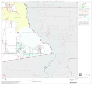 Primary view of object titled '1990 Census County Block Map (Recreated): Henderson County, Block 38'.