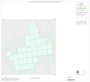 Primary view of object titled '1990 Census County Block Map (Recreated): McLennan County, Inset F01'.
