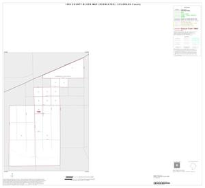 Primary view of object titled '1990 Census County Block Map (Recreated): Colorado County, Inset E01'.