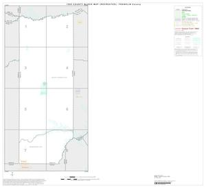 Primary view of object titled '1990 Census County Block Map (Recreated): Franklin County, Index'.