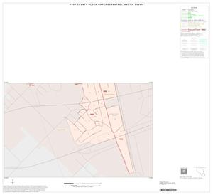 Primary view of object titled '1990 Census County Block Map (Recreated): Austin County, Inset D02'.