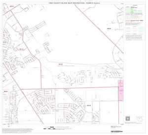 Primary view of object titled '1990 Census County Block Map (Recreated): Harris County, Block 64'.