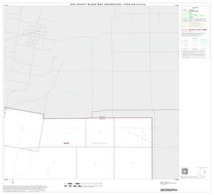 Primary view of object titled '1990 Census County Block Map (Recreated): Hidalgo County, Block 43'.