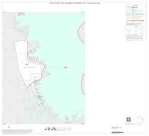 Primary view of object titled '1990 Census County Block Map (Recreated): Llano County, Inset A05'.