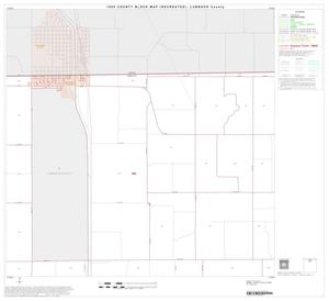 Primary view of object titled '1990 Census County Block Map (Recreated): Lubbock County, Block 4'.