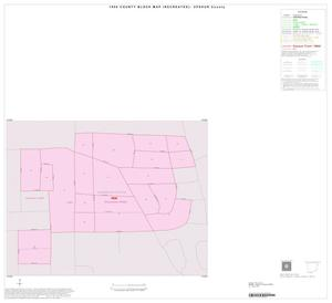 Primary view of object titled '1990 Census County Block Map (Recreated): Upshur County, Inset D01'.