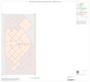 Primary view of object titled '1990 Census County Block Map (Recreated): Lubbock County, Inset E01'.