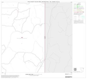 Primary view of object titled '1990 Census County Block Map (Recreated): Val Verde County, Block 16'.