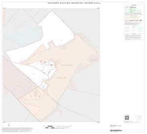 Primary view of object titled '1990 Census County Block Map (Recreated): Navarro County, Inset H01'.